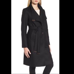 Ted Baker Black Sandra Coat, 1 (new with tags)